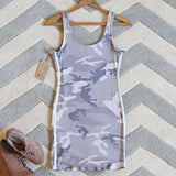 Sweet Camo Dress: Alternate View #4