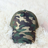 Sweet Camo Hat: Alternate View #2