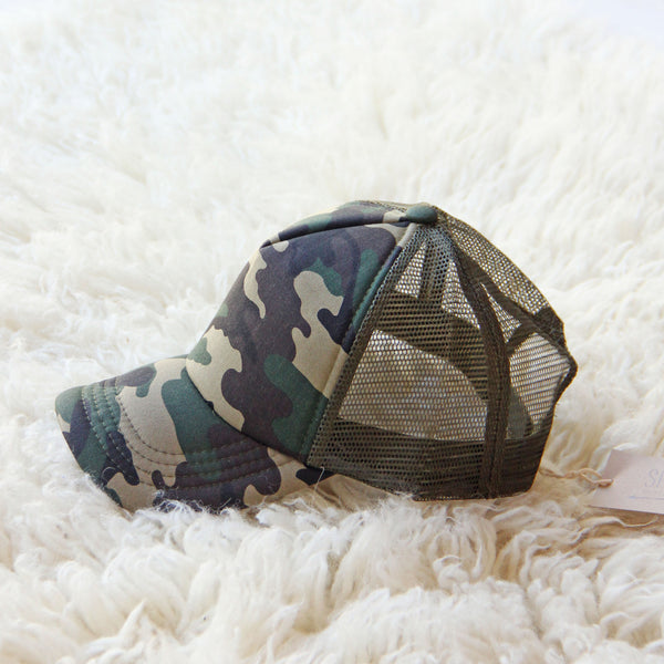 Sweet Camo Hat: Featured Product Image