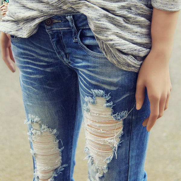 Sweet & Torn Jeans: Featured Product Image