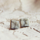 Sweet Druzy Earrings: Alternate View #2