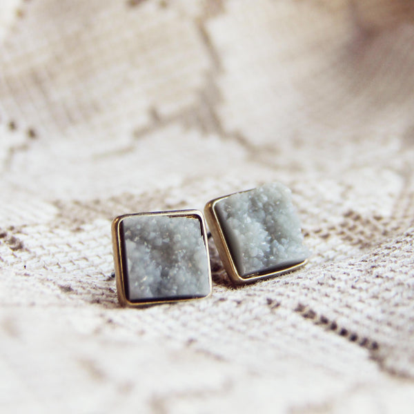 Sweet Druzy Earrings: Featured Product Image