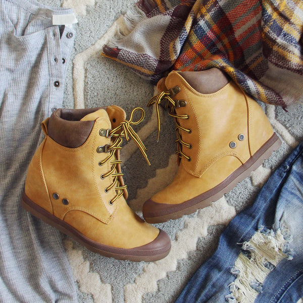 The Sweet Hiker Booties: Featured Product Image