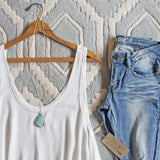 Sweet Lace Layering Tank: Alternate View #2