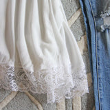 Sweet Lace Layering Tank: Alternate View #3