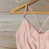 Sweet Nectar Romper in Dusty Rose: Alternate View #2
