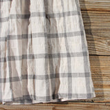 Sweet Plaid Dress: Alternate View #3