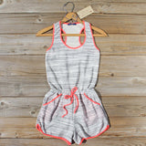 Sweet Sangria Romper: Alternate View #1