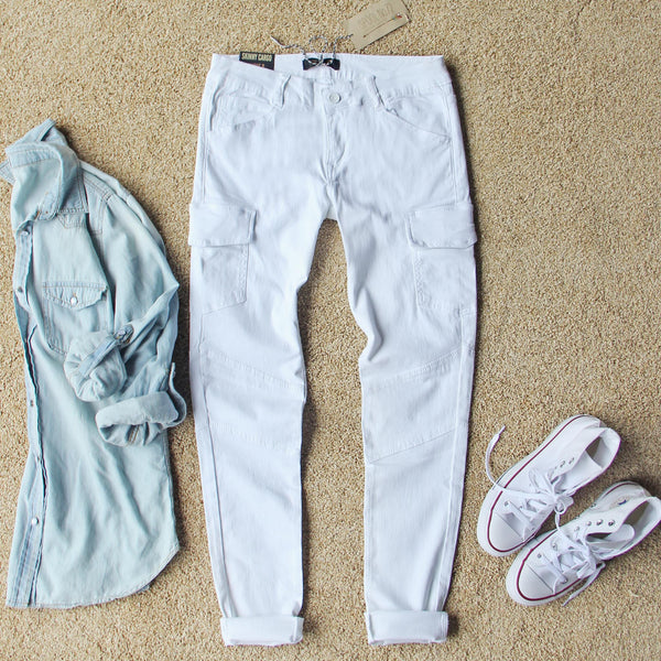 Sweet Skinny Cargo Pants: Featured Product Image