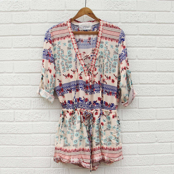 Sweet Tea Romper: Featured Product Image