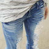 Sweet & Torn Jeans: Alternate View #3