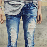 Sweet & Torn Jeans: Alternate View #2
