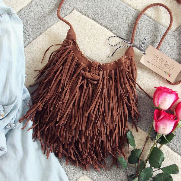 Sweetheart Fringed Tote: Featured Product Image