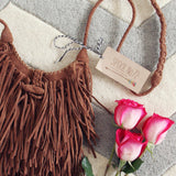 Sweetheart Fringed Tote: Alternate View #2