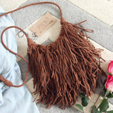 Sweetheart Fringed Tote: Alternate View #3