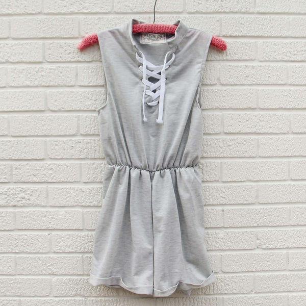 Sweetly Casual Romper: Featured Product Image