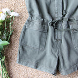 Sweetly Olive Romper: Alternate View #3