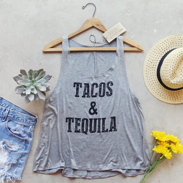 Tacos & Tequila Tank: Featured Product Image
