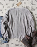 Tahoe Knit Sweater in Gray: Alternate View #5