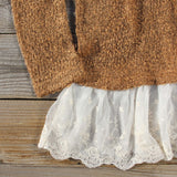 Tamarack Lace Sweater: Alternate View #2