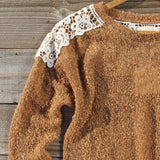 Tamarack Lace Sweater: Alternate View #3