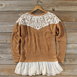 Tamarack Lace Sweater: Alternate View #4