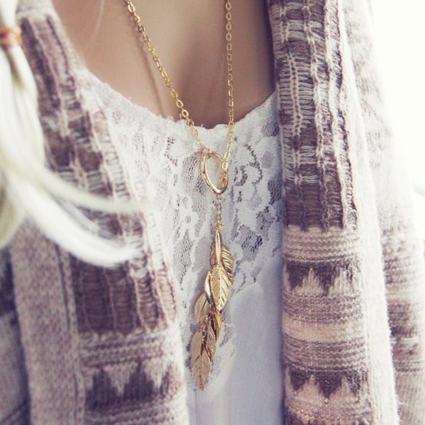 Tangled Aspen Necklace: Featured Product Image