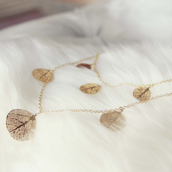 Tangled Leaves Necklace: Featured Product Image