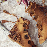 Taos Fringe Sandals: Alternate View #2