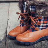 Tartan Flurries Snow Boots: Alternate View #2