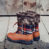 Tartan Flurries Snow Boots: Alternate View #3
