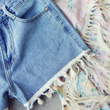 Spool Tassel Shorts: Alternate View #2