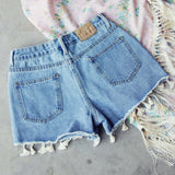 Spool Tassel Shorts: Alternate View #3