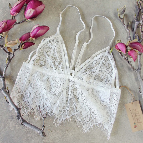 Tattings Lace Bralette: Featured Product Image
