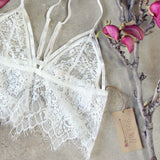 Tattings Lace Bralette: Alternate View #2