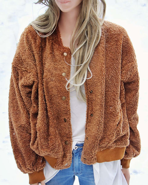Teddy Textured Coat: Featured Product Image