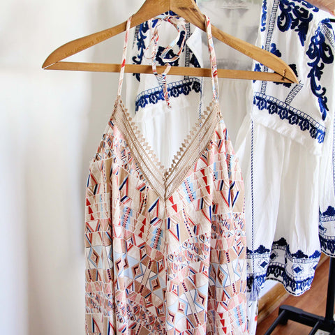 Sweet TeePee Maxi Dress