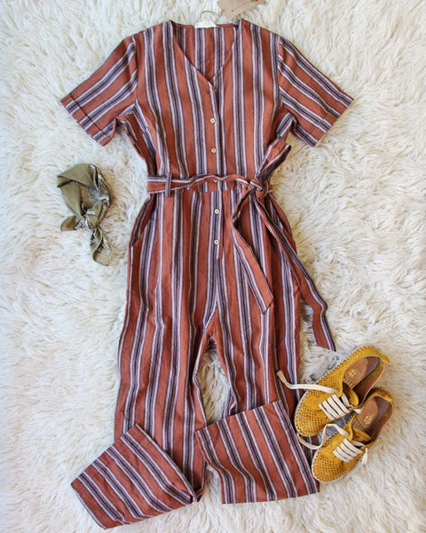 The 70's Wide Leg Jumpsuit: Featured Product Image