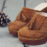 The 70's Tassel Wedges: Alternate View #2