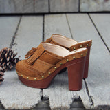 The 70's Tassel Wedges: Alternate View #4