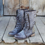 The Aberdeen Studded Combat Boots: Alternate View #3