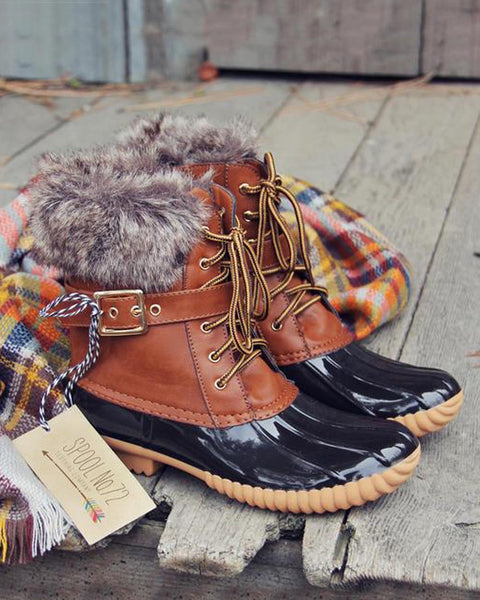 The Alpine Duck Boots: Featured Product Image