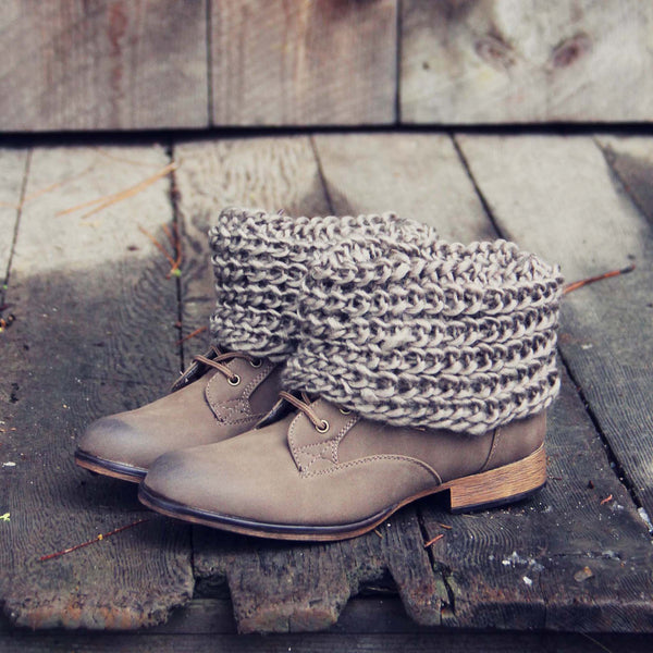 Alpine Sweater Boots: Featured Product Image