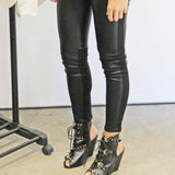 The Ash Leather Leggings: Alternate View #3