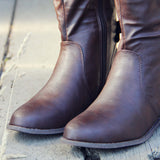 The Bow Back Boots: Alternate View #3