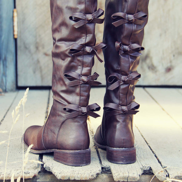 The Bow Back Boots: Featured Product Image