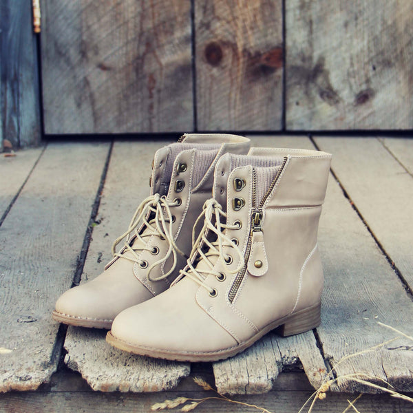The Big Sur Sweater Boots in Sand: Featured Product Image