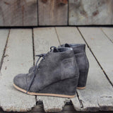 The Billie Plaid Booties in Gray: Alternate View #3