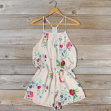The Billy Bloom Romper: Alternate View #1