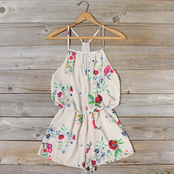 The Billy Bloom Romper: Featured Product Image